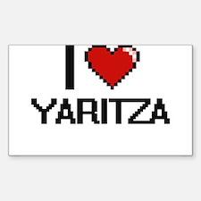I Love Yaritza Decal