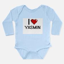 I Love Yasmin Body Suit
