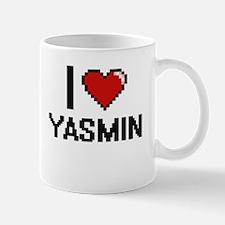 I Love Yasmin Mugs