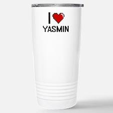 I Love Yasmin Travel Mug