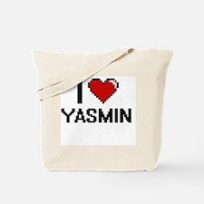 I Love Yasmin Tote Bag