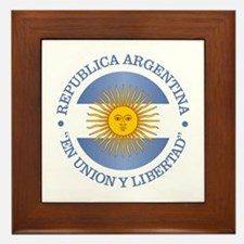 Argentine Republic Framed Tile