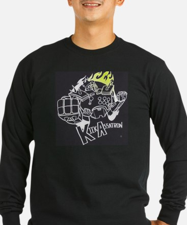 kickassatron inverted Long Sleeve T-Shirt