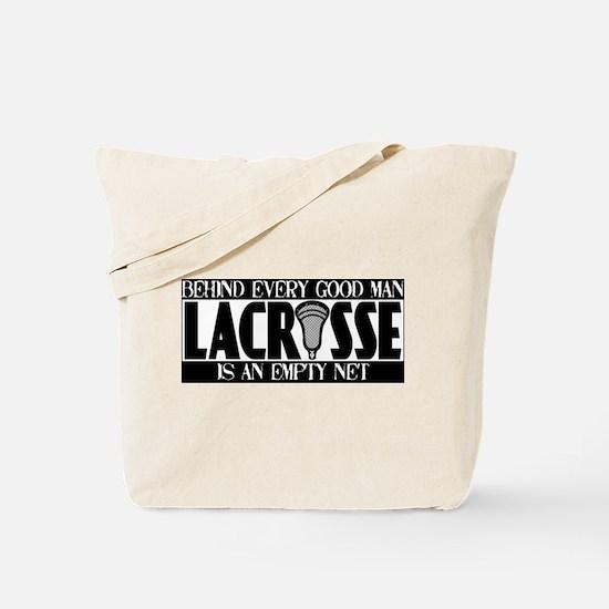 Lacrosse Empty Net Tote Bag