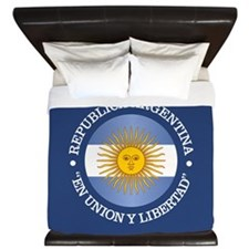 Argentine Republic King Duvet