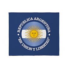 Argentine Republic Throw Blanket