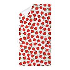 Strawberry Love, Beach Towel