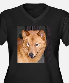 finnish spitz Plus Size T-Shirt