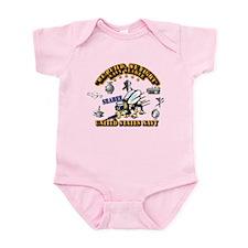 Navy - Seabee - Rates Infant Bodysuit