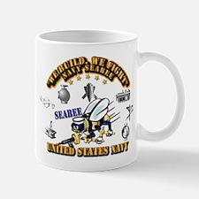 Navy - Seabee - Rates Mug