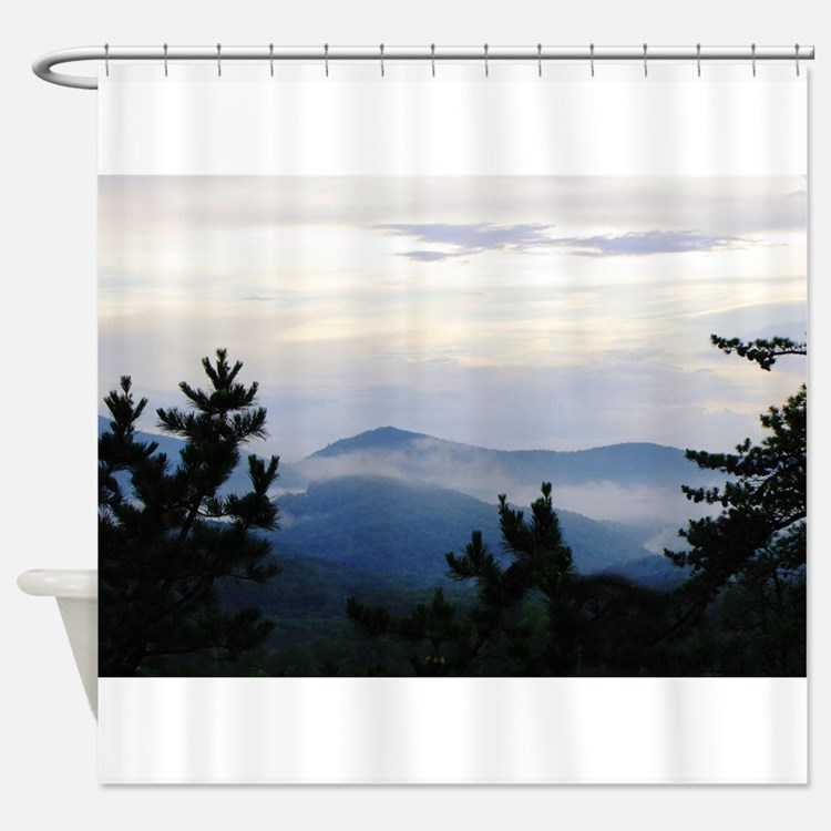 great smoky mountains shower curtains great smoky