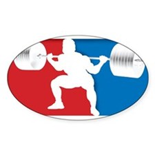 Cute Powerlifting Decal
