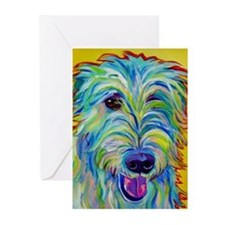 Dog painting Greeting Cards (Pk of 20)