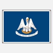 State Flag of Louisiana Banner