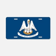 State Flag of Louisiana Aluminum License Plate
