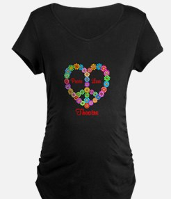 Theatre Peace Love T-Shirt