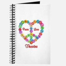 Theatre Peace Love Journal