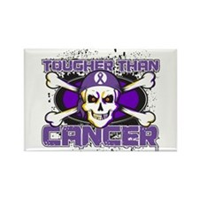 Pancreatic Cancer Tough Rectangle Magnet