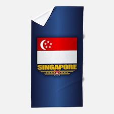 Singapore Beach Towel