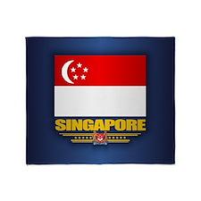 Singapore Throw Blanket