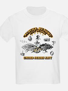 Navy - Seabee - Badge T-Shirt