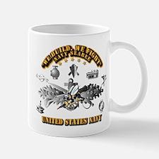Navy - Seabee - Badge Mug