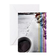 Coffee At Rainbow Bridge Greeting Cards