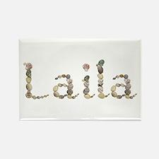 Laila Seashells Rectangle Magnet