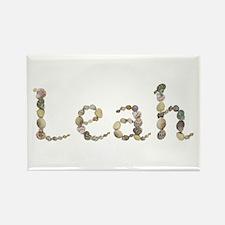 Leah Seashells Rectangle Magnet