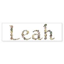 Leah Seashells Bumper Bumper Sticker