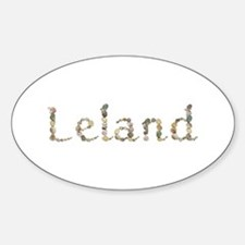 Leland Seashells Oval Decal