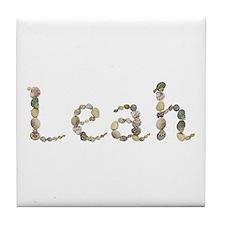 Leah Seashells Tile Coaster