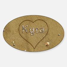 Kyra Beach Love Decal