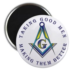 Taking good men Magnet