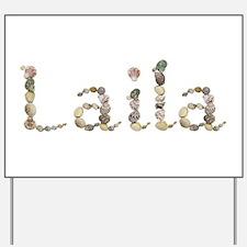 Laila Seashells Yard Sign