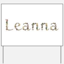 Leanna Seashells Yard Sign