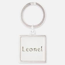 Leonel Seashells Square Keychain