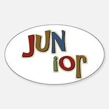 Junior Class 11th Grade School Oval Decal