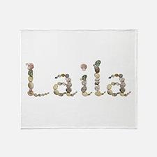 Laila Seashells Throw Blanket