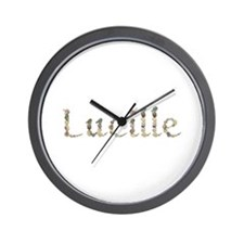 Lucille Seashells Wall Clock