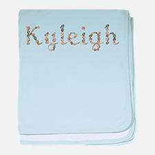 Kyleigh Seashells baby blanket