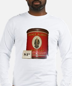 Prince Albert in a can Long Sleeve T-Shirt