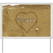 Kurt Beach Love Yard Sign