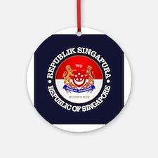 Singapore COA Ornament (Round)