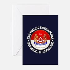 Singapore COA Greeting Cards