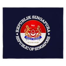 Singapore COA King Duvet