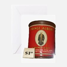 Prince Albert in a can Greeting Cards