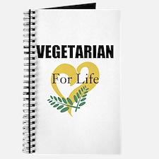 Vegetarian For Life Journal