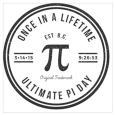 Ultimate Pi Day-1 Canvas Art