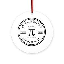 Ultimate Pi Day-1 Round Ornament
